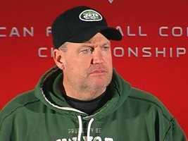 $75,000 - New York Jets head coach Rex Ryan on Nov. 21, 2011, for cursing at a fan during halftime of a game against New England.