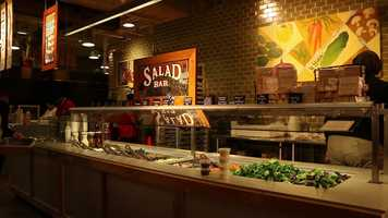 Market District Express salad bar