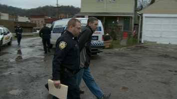 A drug suspect is arrested in Pitcairn.