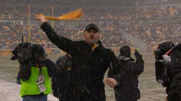 Video: Joe Manganiello leads Terrible Towel Twirl at Heinz Field