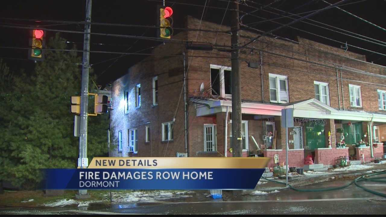 House fire in Dormont