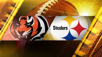 Week 17: Cincinnati Bengals at Steelers1 p.m. on Sunday, Dec. 28