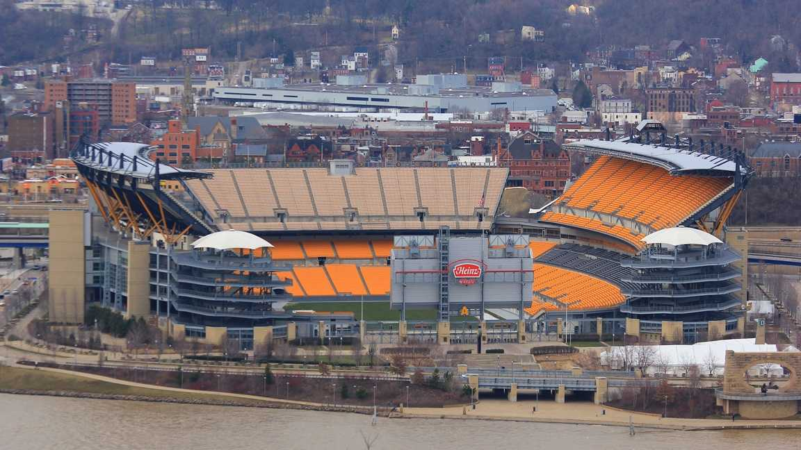 Heinz Field for 2014 schedule slideshow
