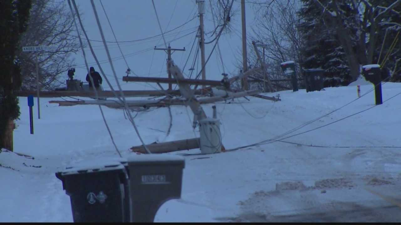 downed power line
