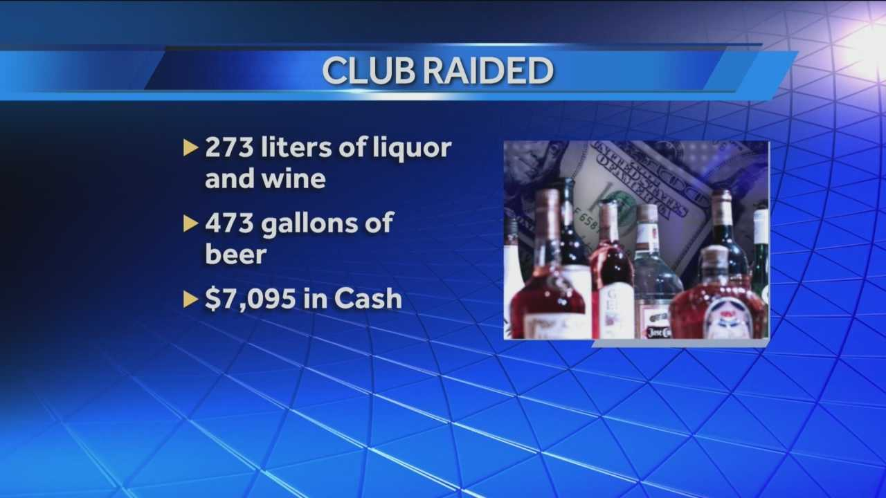 beer removed from club erotica