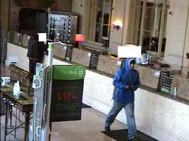 The robber was the same man wanted in robberies at GNC Federal Credit Union and FirstMerit Bank.