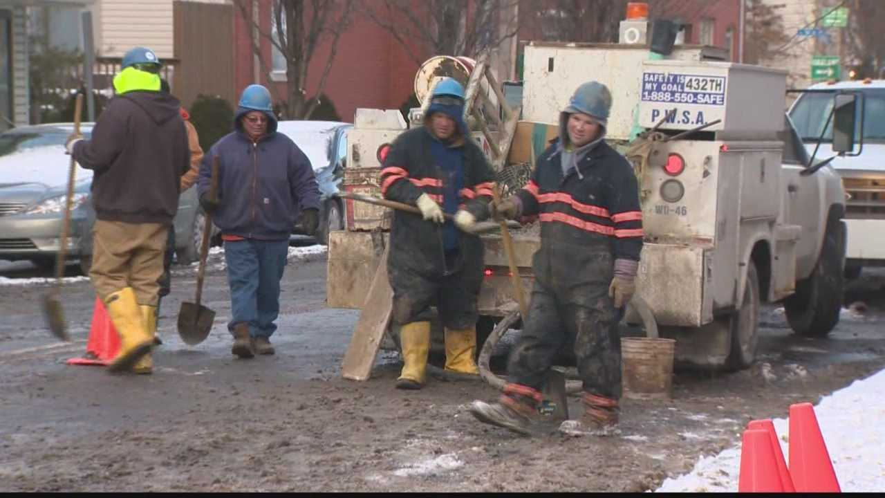 Deep freeze taking toll on water mains