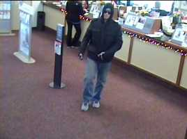Police in West Mifflin are working to identify a man who robbed a bank Thursday morning.