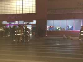 Officials said the entrance was not structurally sound and had to be closed. However, the store remains open and shoppers should use its other entrances.