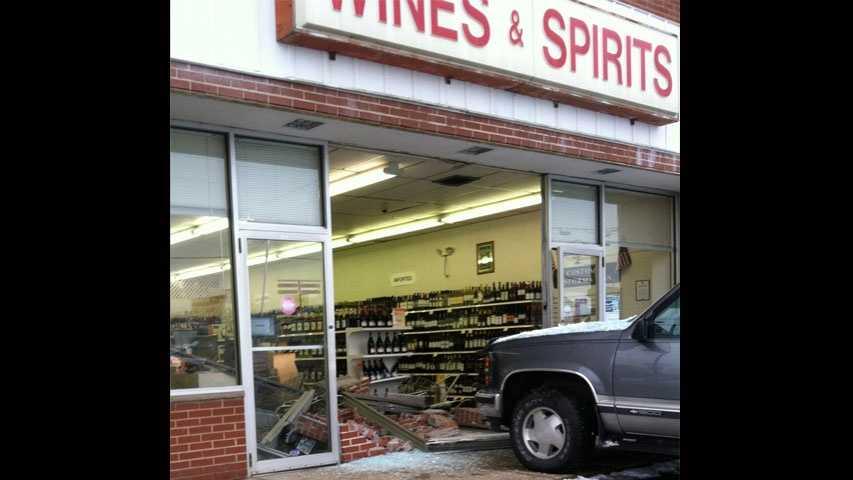 img-truck in liquor store