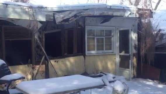 Baldwin house collapse