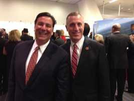 Democratic Mayor Bill Peduto and Republican Congressman Tim Murphy