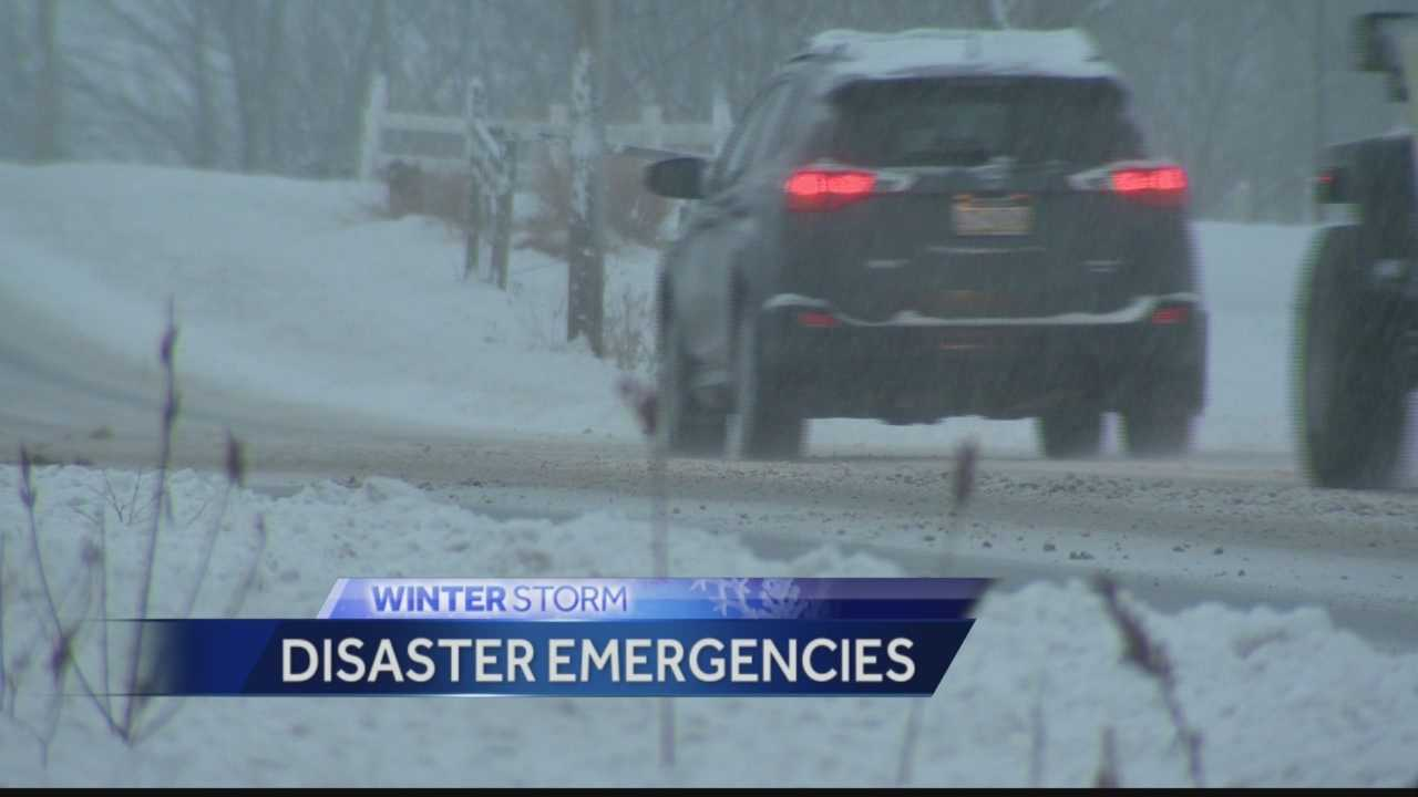 Two communities declare disaster emergencies