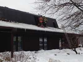 A fire broke out at the Irene Stacy Community Mental Health Center in Butler on Wednesday morning.