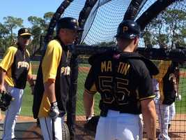 Clint Barmes and Russell Martin