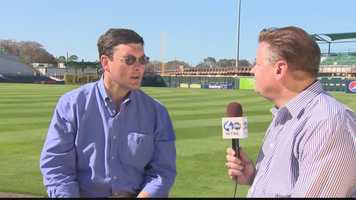 Pirates owner Bob Nutting told Channel 4 Action Sports' Guy Junker he believes the team is in position to move forward in 2014. (Click here to watch Guy's report)
