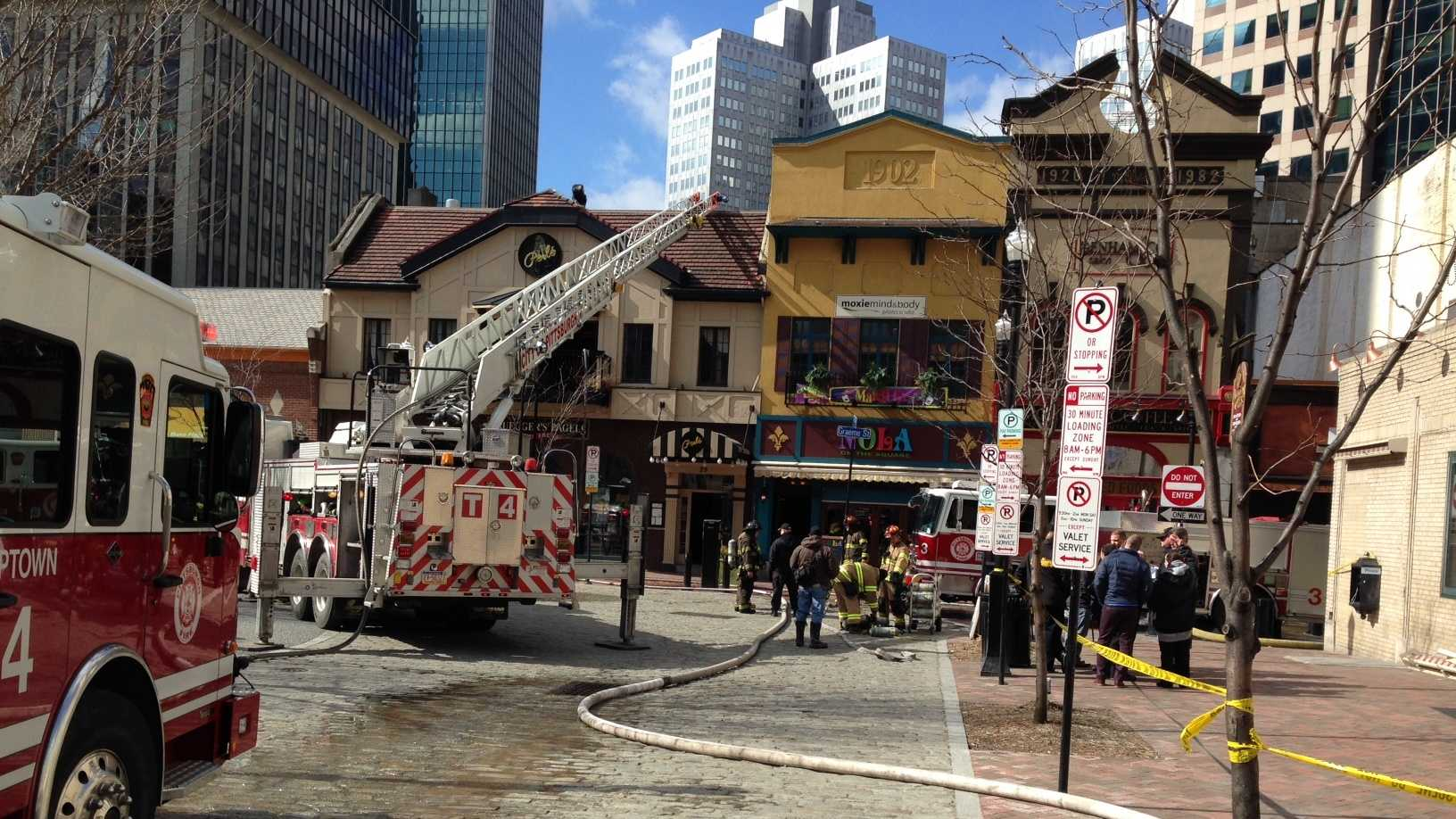 Market Square fire