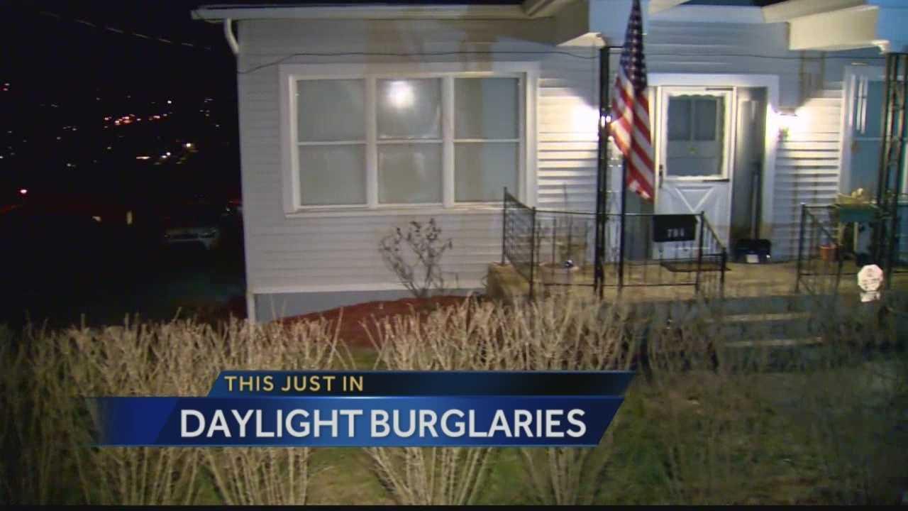 Daylight burglaries