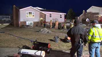 Firefighters responded to an early-morning house fire on Adam Fisher Court in Mount Pleasant.