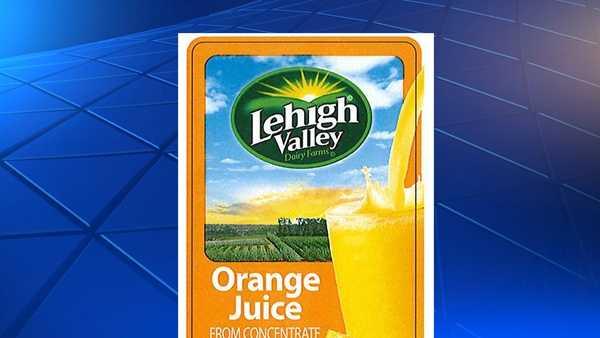 Lehigh Valley Orange Juice