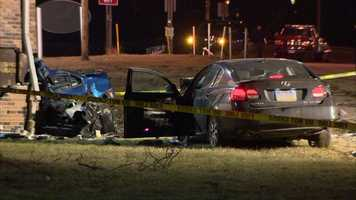 A man was killed in a two-car crash in Duquesne.