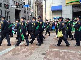 The parade featured 23,000 participants, 200 marching units and 18 marching bands.