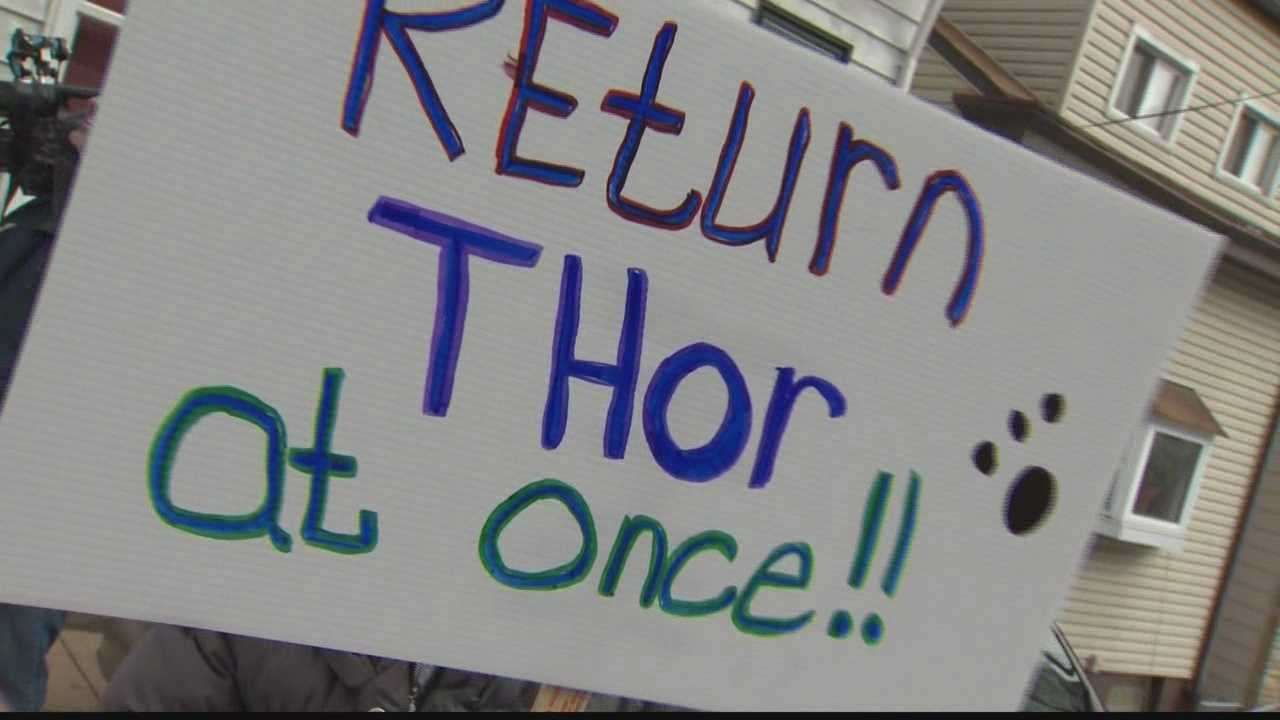 "img-""Return Thor At Once"" sign"