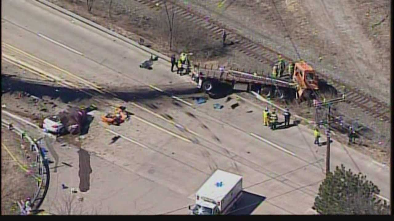 Collier Township truck crash