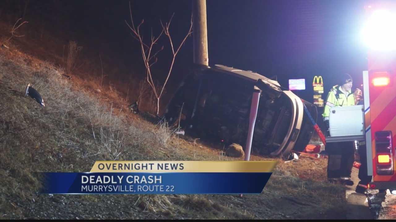 Deadly Crash on Rt 22 in Murrysville