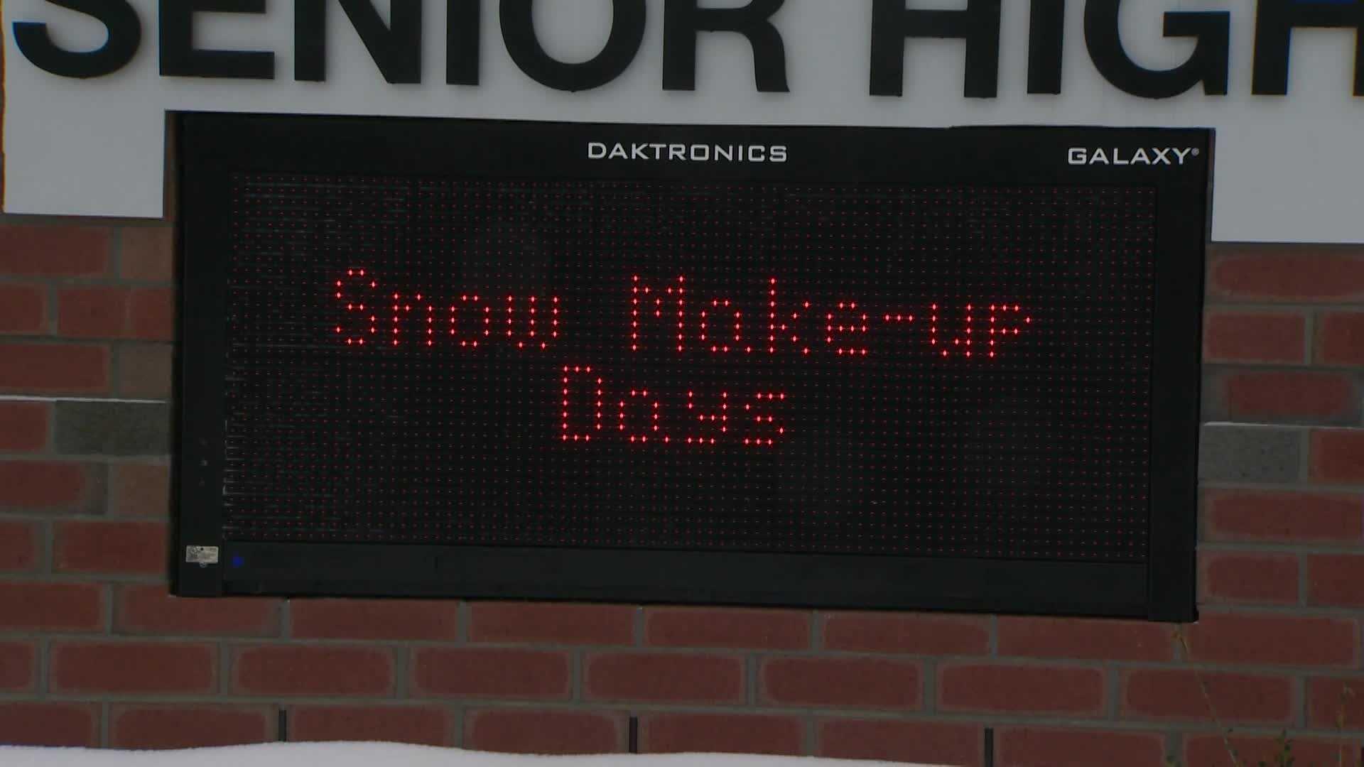 Snow Make-Up Days