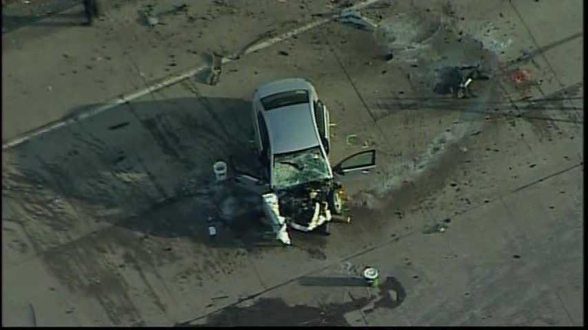 Route 119 crash (no caption)