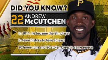 In 2011, he became the 8th player in team history to have at least 20 home runs and 20 stolen bases in the same season