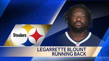 Former New England Patriots running back LeGarrette Blount agreed to a two-year deal with the Steelers.