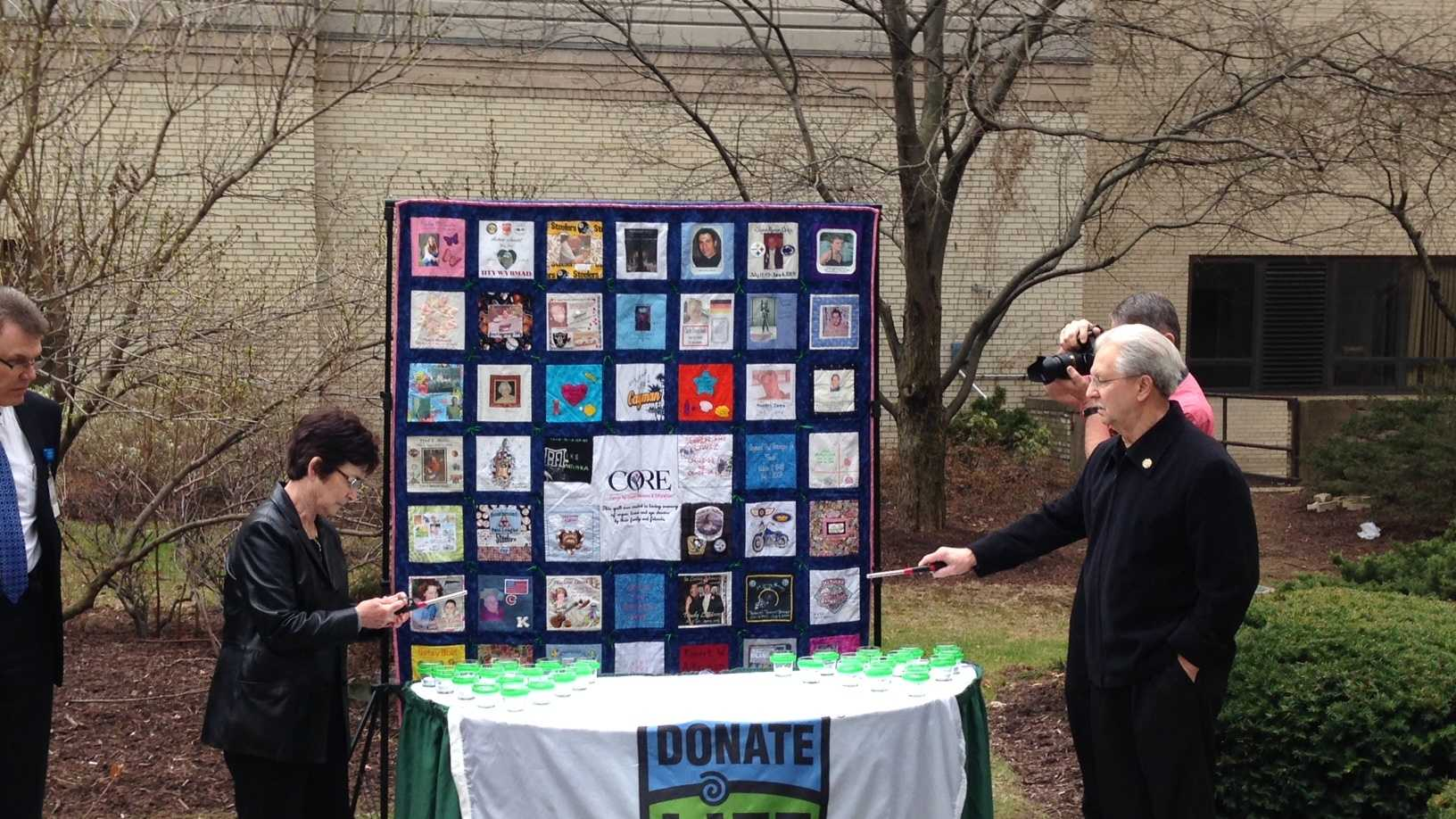 Organ donation event