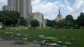 2. University of Pittsburgh
