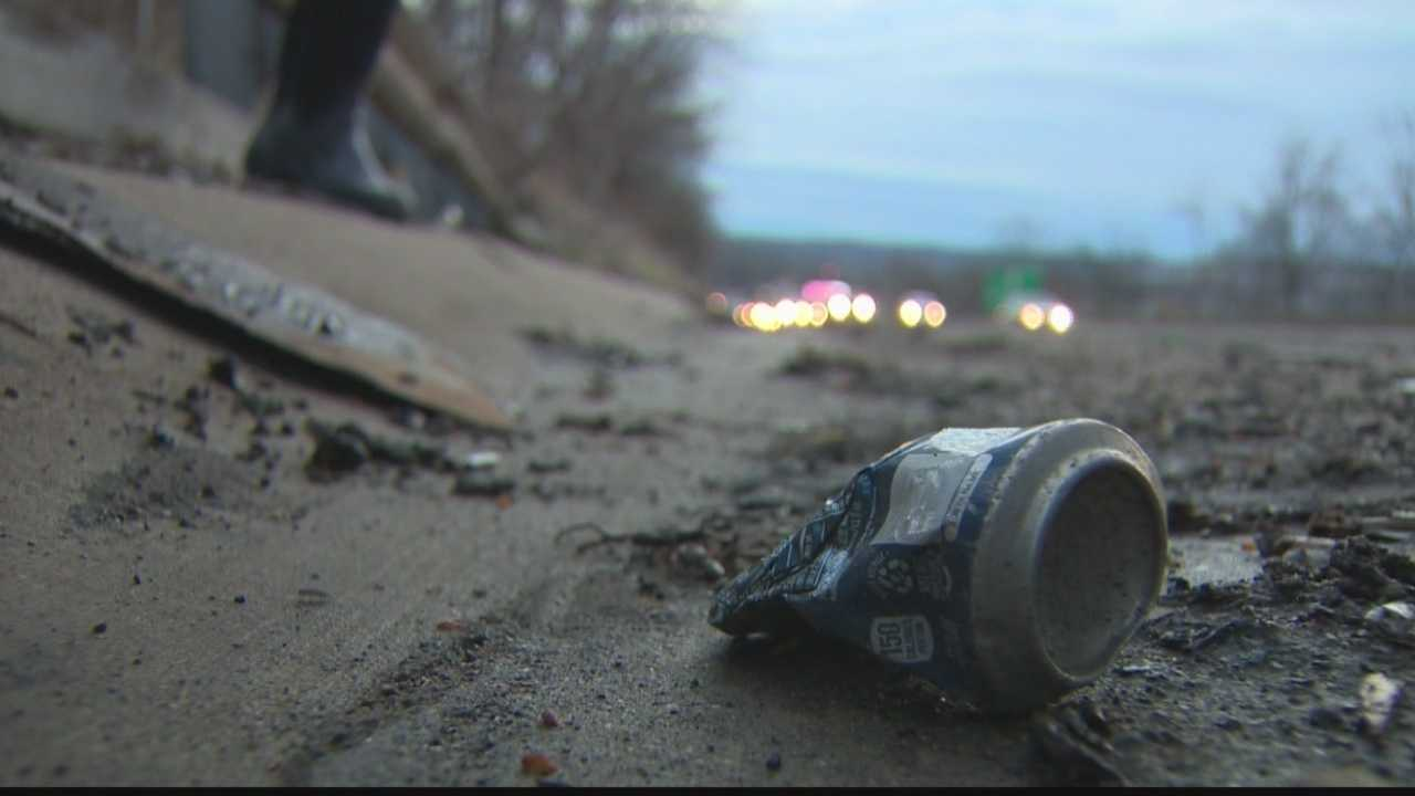 Roadside litter costs millions of dollars to clean up