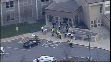 Murrysville police said students were taken to Heritage Elementary School to be picked up by parents or otherwise safely dismissed.