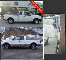 Police believe a white Ford F-150 pickup truck like this one was driven by a man who robbed First Niagara Bank on Murray Avenue in Squirrel Hill on March 23, 2014.