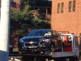 The man was identified as Adrian Williams, 29, of the 15216 ZIP code. His car was towed as evidence for an investigation by Allegheny County homicide detectives.