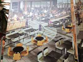 There will be new flooring and an updated seating layout with banquette seating and cafe-style soft-seating areas.