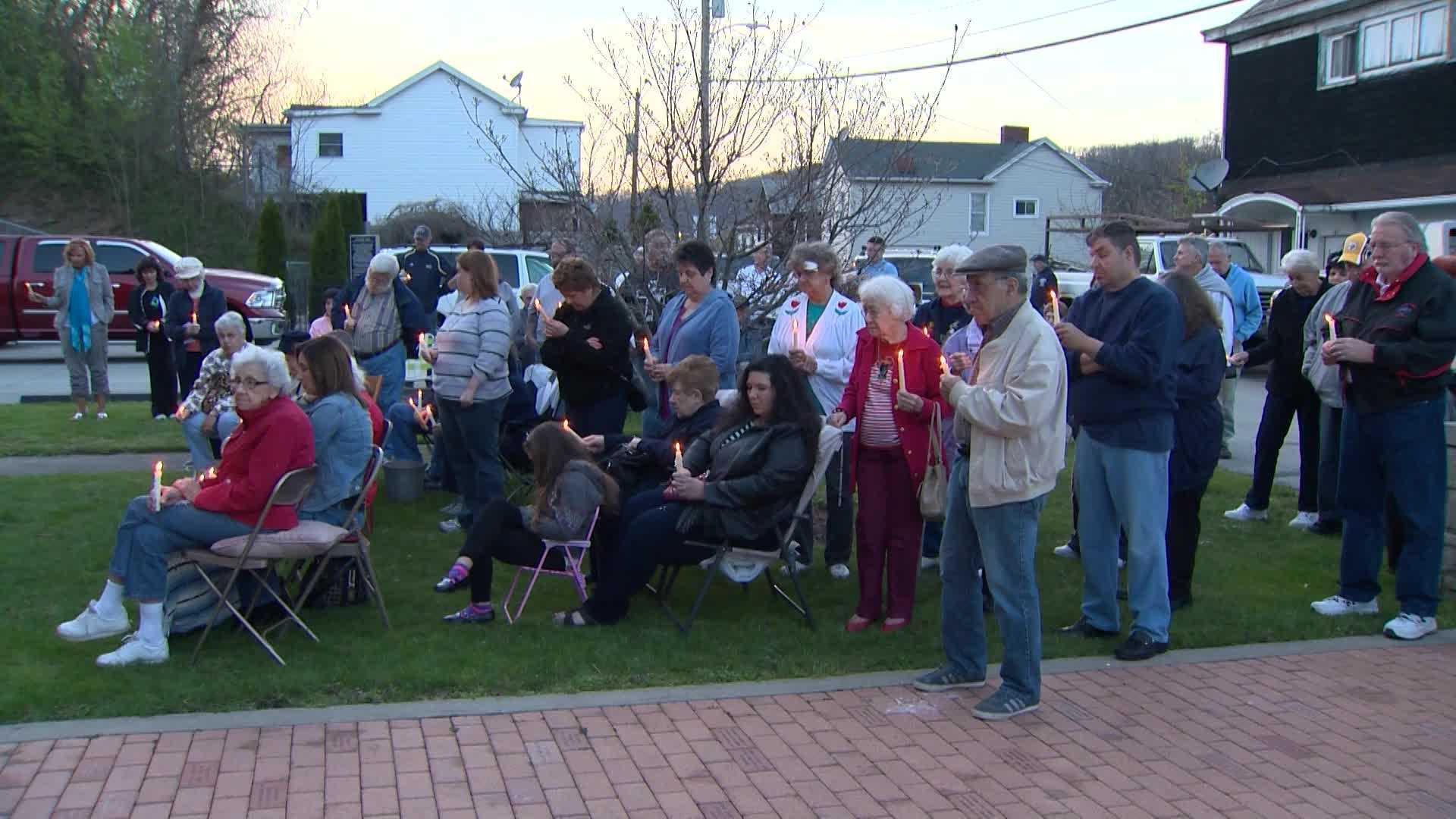 Parishioners protest closing of church