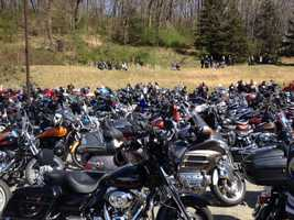 These pictures of the 18th annual Blessing of the Bikes at Murrysville Alliance Church were shared on u local.