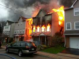 Two women died in a house fire in the Fineview area of Pittsburgh on Wednesday morning.