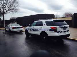 Monroeville police officers were called after a student brought a handgun to Ramsey Elementary School on Wednesday morning.