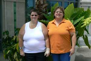 Cathy Arkus (left) and Judy Rassias (right)