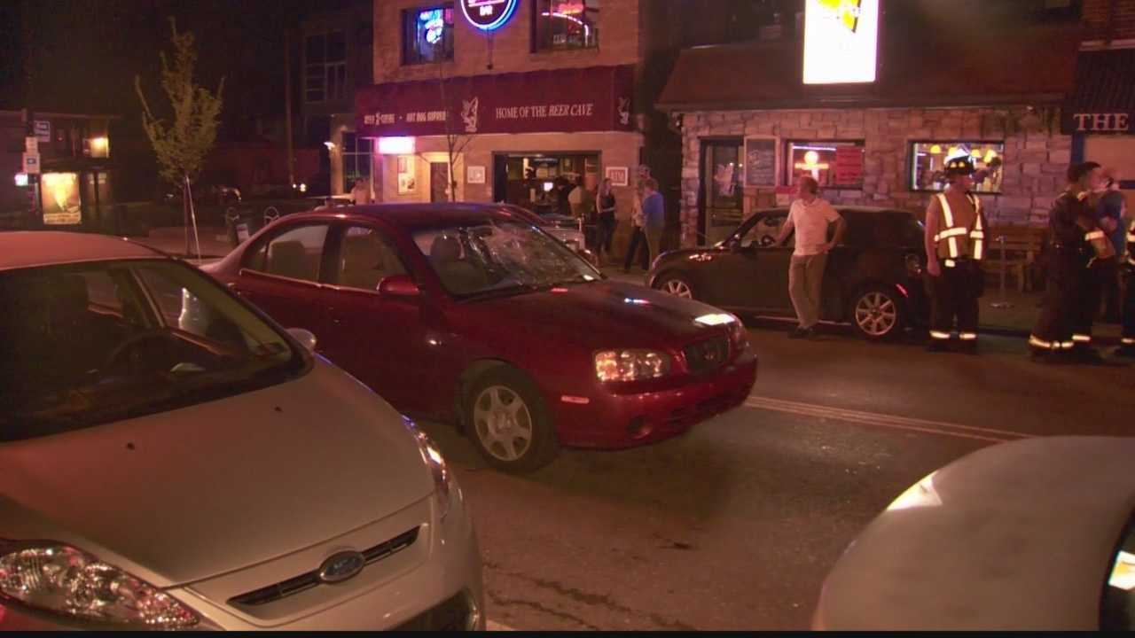 Pedestrian struck by vehicle in Regent Square
