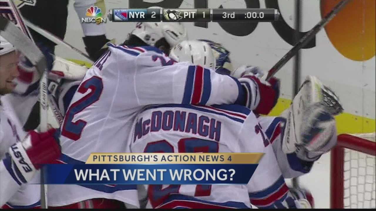 Rangers beat Penguins