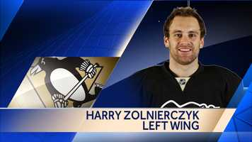 Forward Harry Zolnierczyk signed a one-year, two-way deal with the New York Islanders.