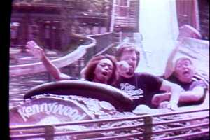 The Log Jammer ride in 1979.