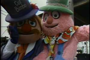 Col. Bimbo and Jeeters were some of the characters that kids could meet at Kennywood Park.